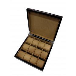 KronoKeeper Macasser Ebony 12 Watch Box