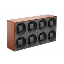 SwissKubik MasterBox 8 Watch Winder - Leather