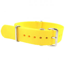 Watch NATO strap Yellow