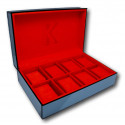 Watch Box with glass Kronokeeper for 8 watches