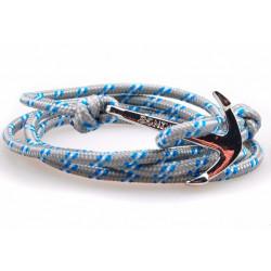 Steel anchor bracelet