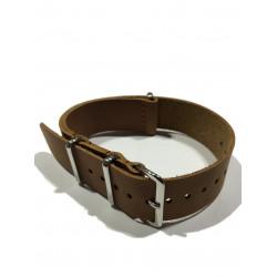Leather NATO strap LN175