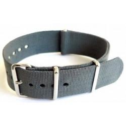 Bracelet nylon NATO Gris