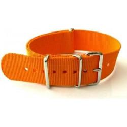 Orange NATO watch strap