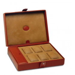 Watch box Underwood London leather for 6 watches