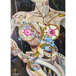 Nudo di Lange Painting by Néstor Ferronato