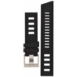 Isofrane rubber strap black