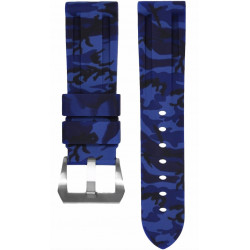 Horus Camouflage Rubber for Panerai Luminor & Radiomir blue