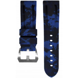 Horus Camouflage Rubber for Panerai Luminor & Radiomir digital blue