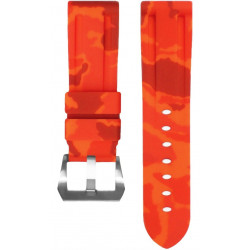 Horus Camouflage Rubber for Panerai Luminor & Radiomir orange