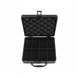 Black Aluminium case by KronoKeeper for 8 watches