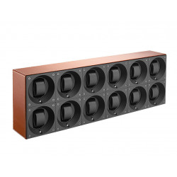 SwissKubik MasterBox 12 Watch Winder - Leather