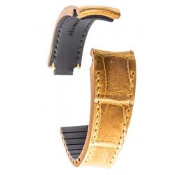 R-Strap - Alligator strap for Rolex - Honey (Special Tanning)