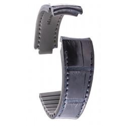 R-Strap Alligator strap for Rolex - Dark blue