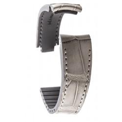 R-Strap - Alligator strap for Rolex - Light grey