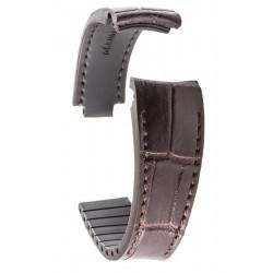 R-Strap - Alligator strap for Rolex - Dark brown