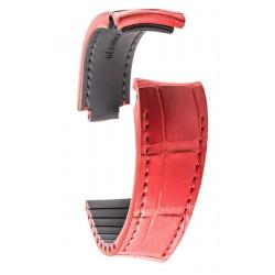 R-Strap - Alligator strap for Rolex - Red