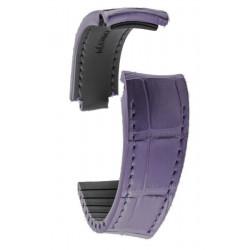 R-Strap - Alligator strap for Rolex - Purple
