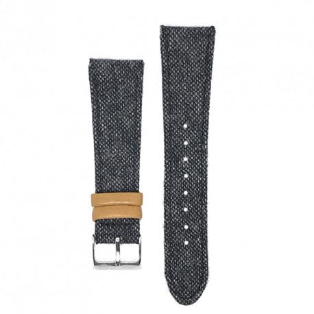 Kronokeeper strap - Edmond dark grey