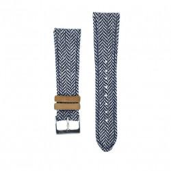 Bracelet Kronokeeper - Gustave white/bule