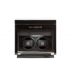 Paul Design - Gentleman 2+3 Watch Winder & Extra storage for 3 watches