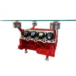 Ferrari V8 F355 Spider Engine Coffee Table