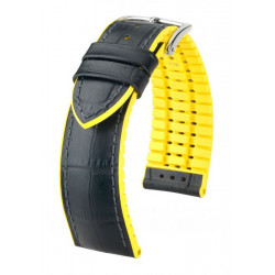 Andy Hirsch Watch Strap Black/Yellow