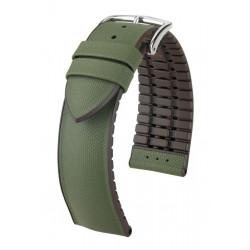 Arne Hirsch Watch Strap Green/Brown