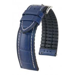 George Hirsch Watch Strap Blue/Black