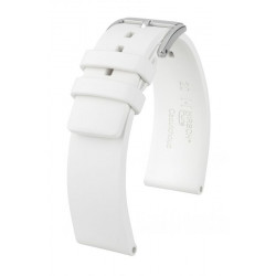 Pure Hirsch Watch Strap White