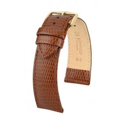 Rainbow Hirsch Watch Strap Golden Brown