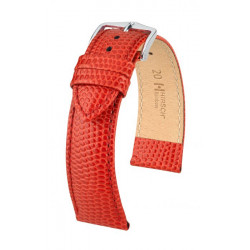 Rainbow Hirsch Watch Strap Red
