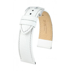 Rainbow Hirsch Watch Strap White