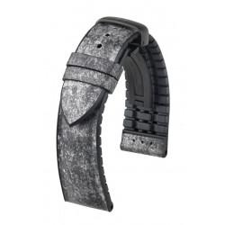 Stone Hirsch Watch Strap Grey/Black