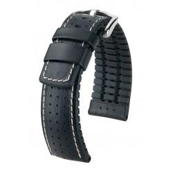 Tiger Hirsch Watch Strap Black/Black
