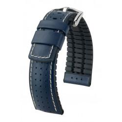 Tiger Hirsch Watch Strap Blue/Black