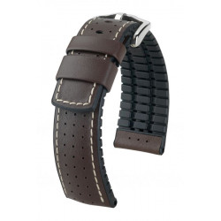 Tiger Hirsch Watch Strap Brown/Black