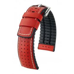 Tiger Hirsch Watch Strap Red/Black
