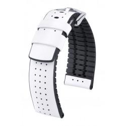 Tiger Hirsch Watch Strap White/Black