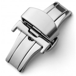 Double folding clasps stainless steel