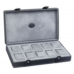 Watch box Underwood London leather for 10 watches