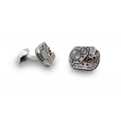 KronoKeeper cufflinks - Omega golden steel