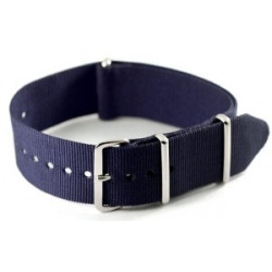 Bracelet nylon NATO Bleu Marine