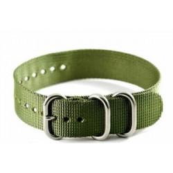 Bracelet nylon NATO ZULU Vert