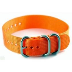 Bracelet nylon NATO ZULU Orange