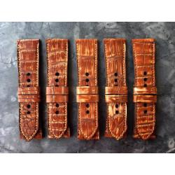 Tunx Straps Caramel Croco Serie