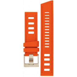 Isofrane rubber strap orange
