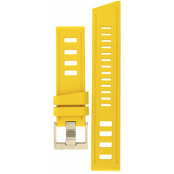 Isofrane rubber strap yellow
