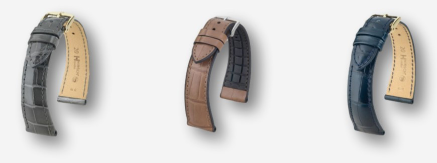 Alligator watch straps