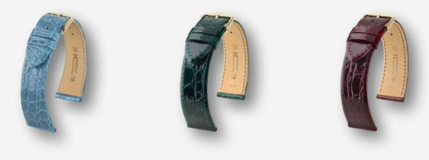 Crocodile watch straps